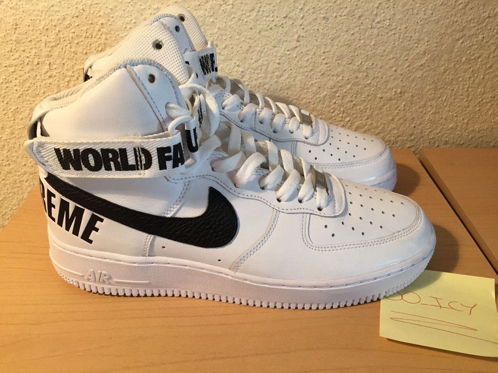 Supreme x Nike Air Force 1 Hi Collection Review