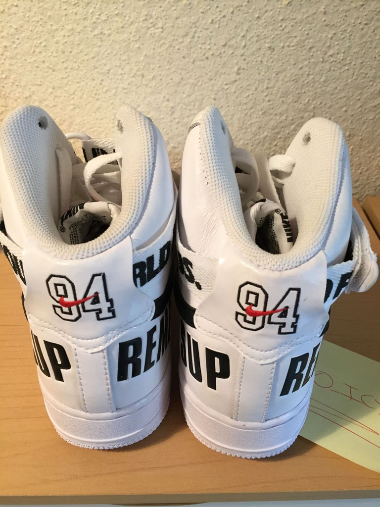 Supreme x Nike Air Force 1 Hi Collection WearTesters