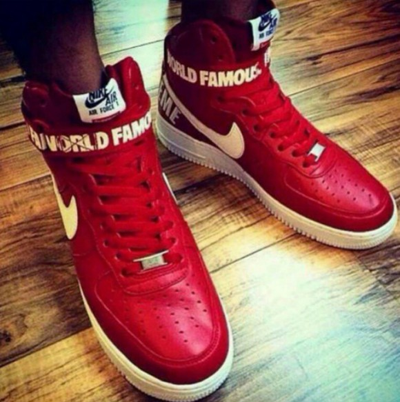 Supreme x Nike Air Force 1 Hi Collection.9