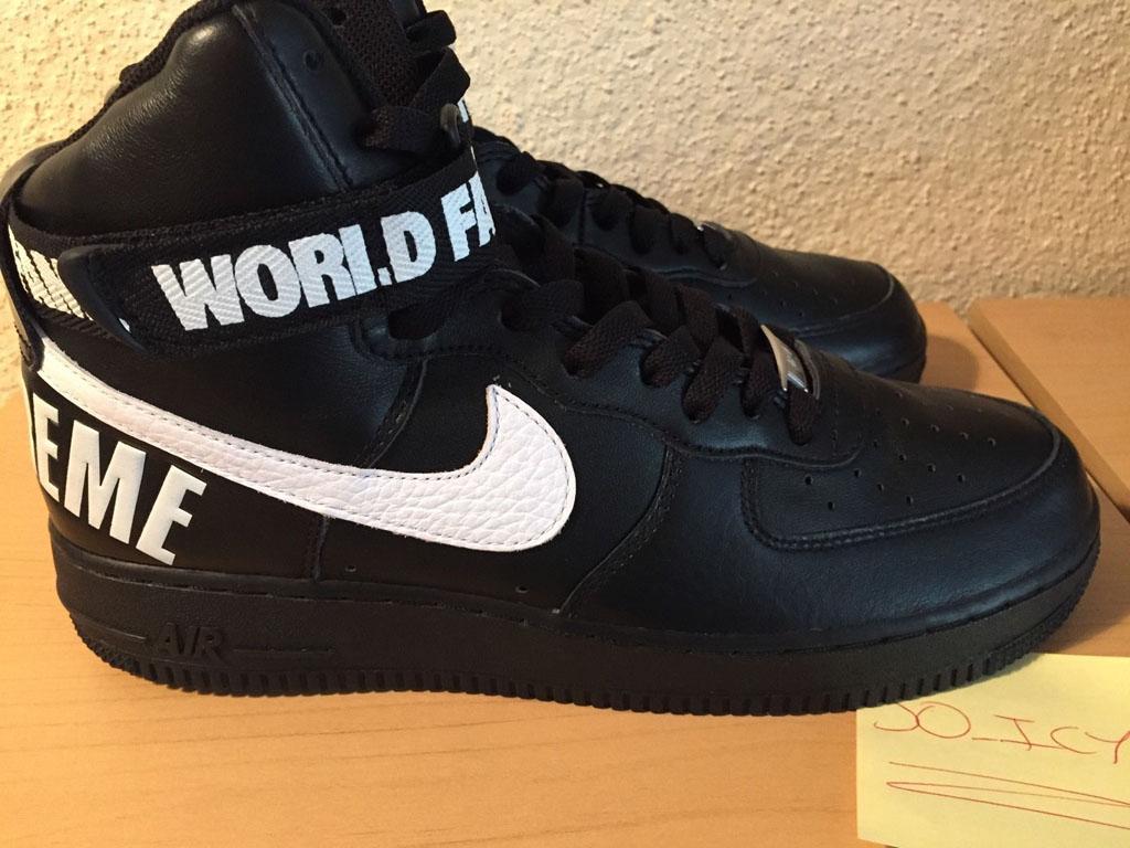 Supreme x Nike Air Force 1 Hi