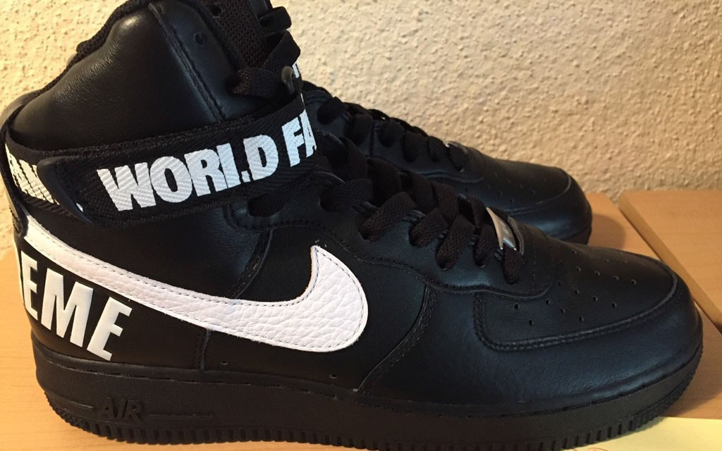 Supreme x Nike Air Force 1 Hi Collection3