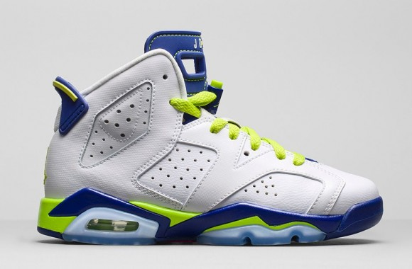Air Jordan 6 Retro 'Seahawks' GS – Available Now