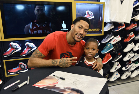 Derrick Rose Meet and Greet in Chicago Event Recap 7