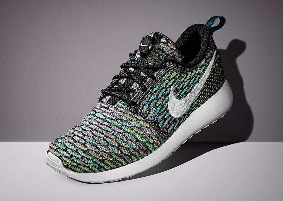 Nike Flyknit Roshe Run 'Multi-Color
