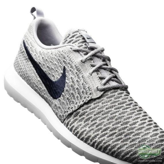 Nike Flyknit Roshe Run 'Wolf Grey'2