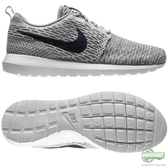 Nike Flyknit Roshe Run 'Wolf Grey'3