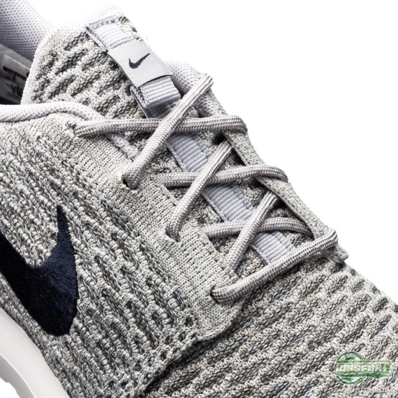 Nike Flyknit Roshe Run 'Wolf Grey'5