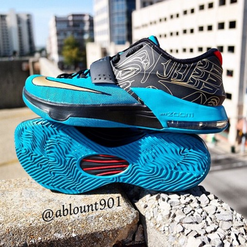 Nike KD 7 'N7' - Detailed Look 2