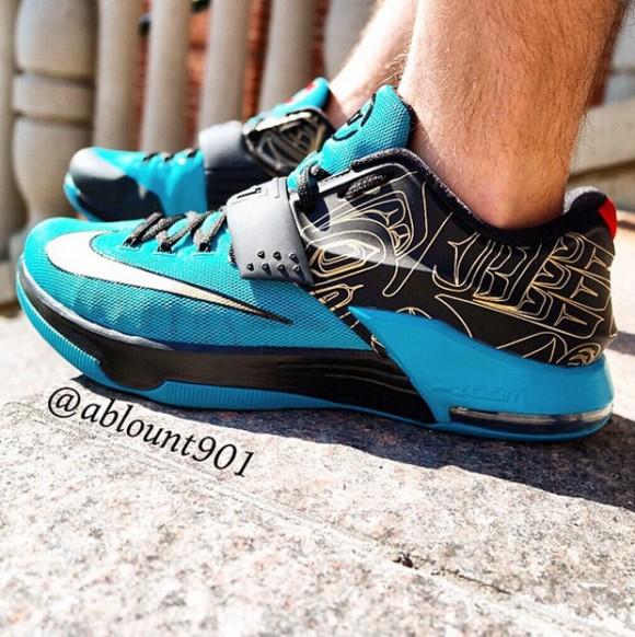Nike KD 7 'N7' - Detailed Look 4