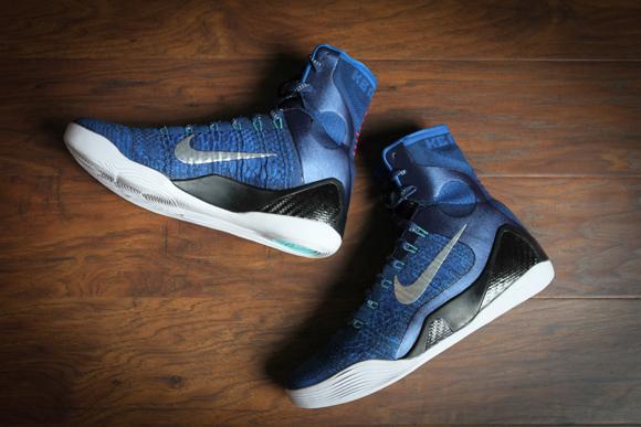 Nike Kobe 9 Elite 'Brave Blue' – Beauty Shots 3
