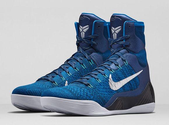 Nike Kobe 9 Elite 'Brave Blue' – Official Look + Release Info 1