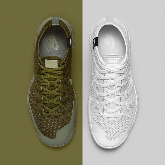 NikeLab Flyknit Trainer Chukka FSB 'Sage' and 'White' – Official Look + Release Info