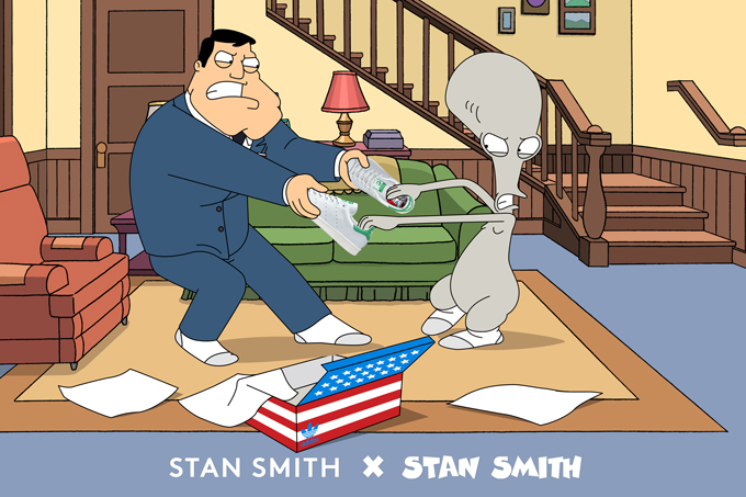 adidas stan smith american dad
