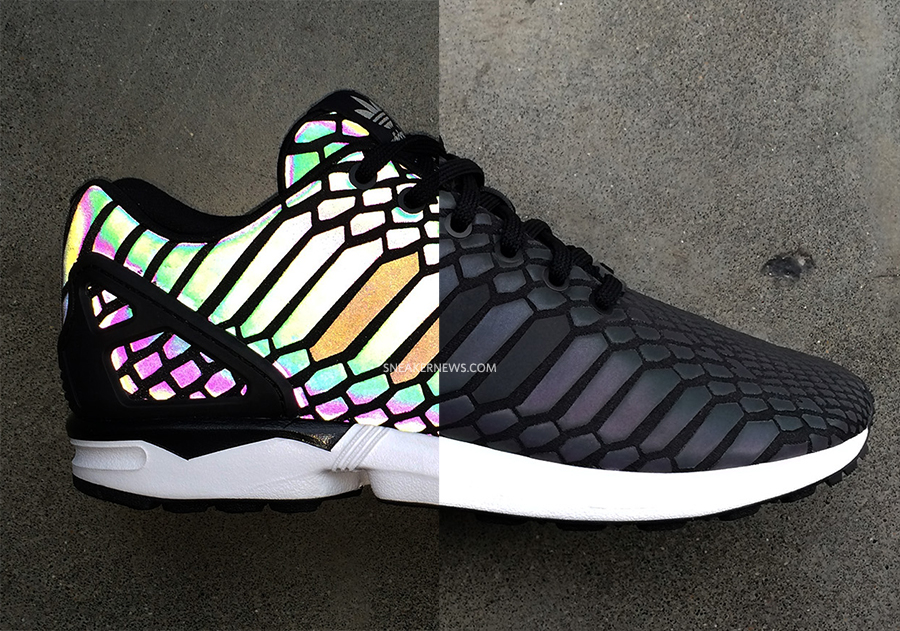 adidas ZX Flux 'Reflective Snake'3