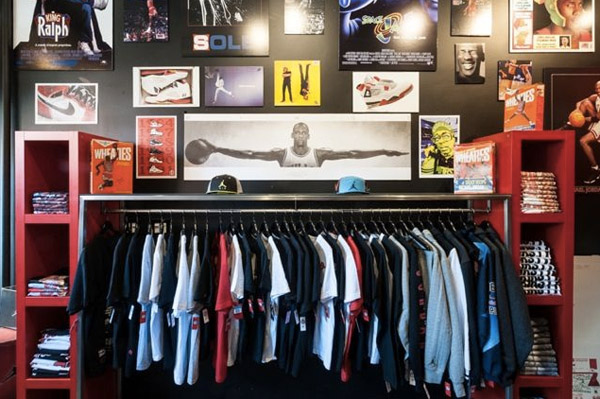 photos officielles 3a8c3 d6763 Air Jordan Only Boutique Opens In Brooklyn