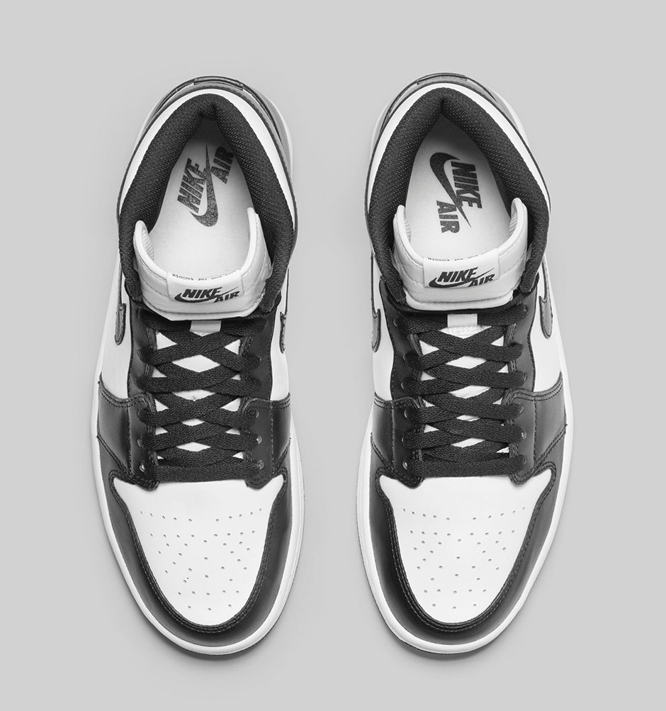 the best attitude ff778 5eae1 Air Jordan 1 Retro High OG 'Black/White' - Release ...