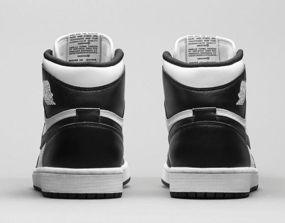 Air Jordan 1 Retro High OG 'Black:White' - Release Information-6