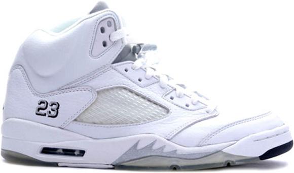 Air Jordan 5 Retro White Metallic Silver – Release Date