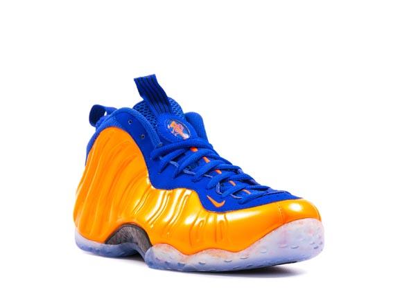 Nike Air Foamposite One 'Knicks' - Detailed Look 3