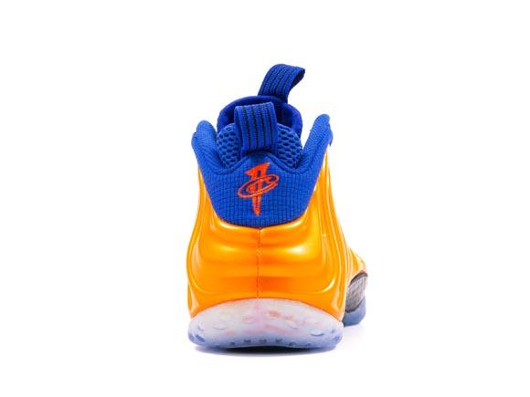 Nike Air Foamposite One 'Knicks' - Detailed Look 4