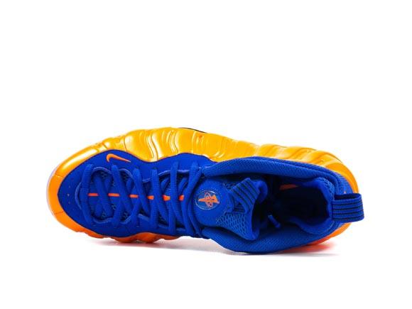 Nike Air Foamposite One 'Knicks' - Detailed Look 5
