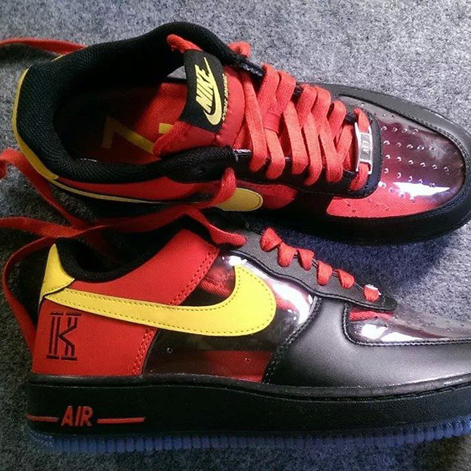 separation shoes 685d6 51317 Nike Air Force 1 Low 'Kyrie Irving' - WearTesters