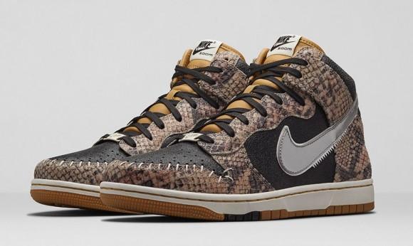 Nike Dunk CMFT Premium 'Crocodile Print'