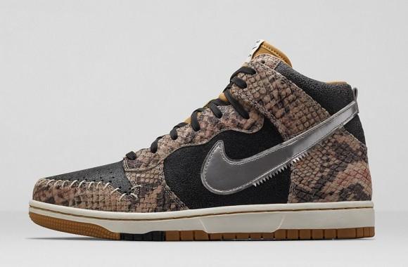 Nike Dunk CMFT Premium 'Crocodile Print'2
