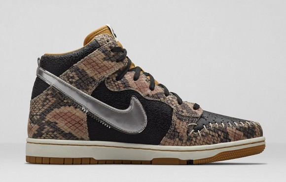 Nike Dunk CMFT Premium 'Crocodile Print'7