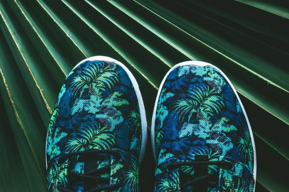 Nike Roshe Run Print Space Blue: Blue Jade6
