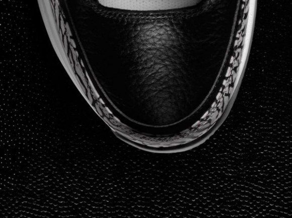 Nike Zoom Vapor 9 Tour x Air Jordan 3 'Black Cement' Teaser