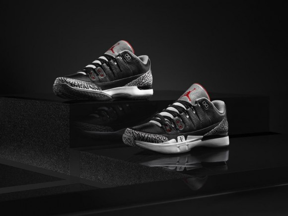 Nike Zoom Vapor Air Jordan 3 'Black Cement' – Release Information-1