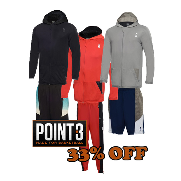 Performance Deals 33 Off Everything at POINT3 Apparel