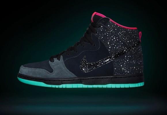 Premier x Nike SB Dunk High 'Northern Lights'