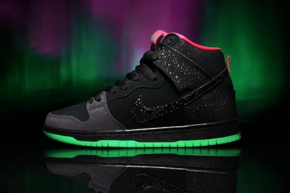 Premier x Nike SB Dunk High Premium 'Northern Lights' - Detailed Look + Release Info 1