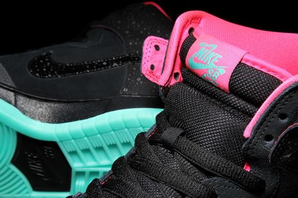 Premier x Nike SB Dunk High Premium 'Northern Lights' - Detailed Look + Release Info 2