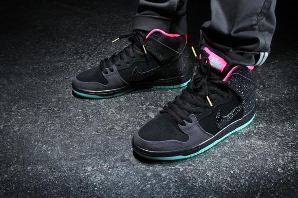 Premier x Nike SB Dunk High Premium 'Northern Lights' - Detailed Look + Release Info 3