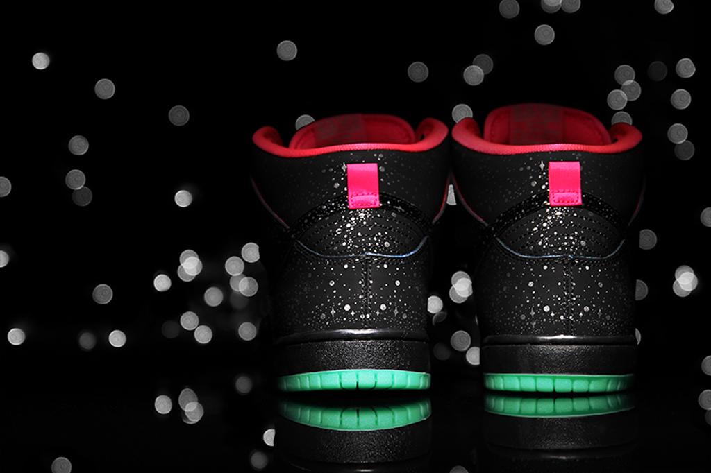 Premier x Nike SB Dunk High Premium 'Northern Lights' - Detailed Look + Release Info 5