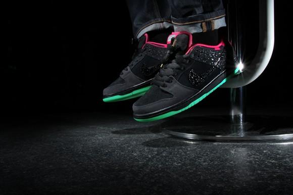 Premier x Nike SB Dunk Low 'Northern Lights'3