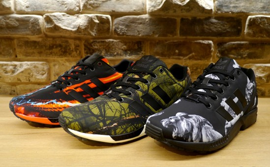 adidas ZX Flux 'Holiday Photo Print Pack' – Available Now