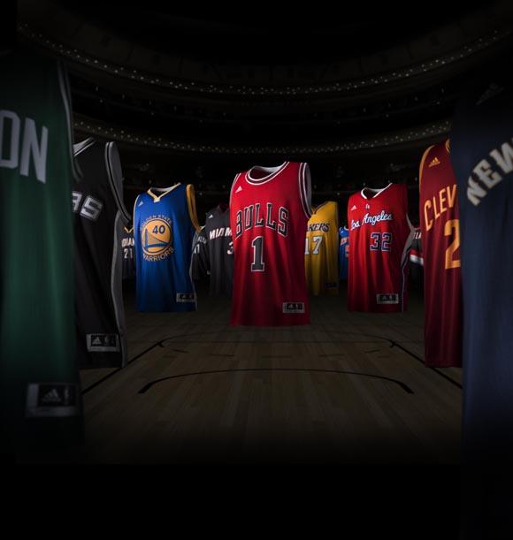 adidas x NBA Swingman Jersey featuring Damian Lillard 1