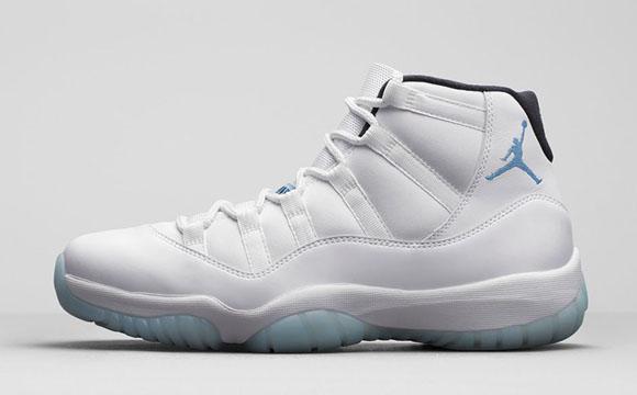 Air Jordan 11 'Legend Blue' – Official Look 1