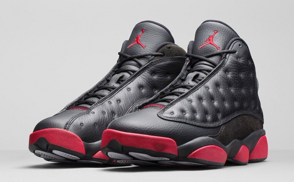 Air Jordan 13 Retro Black:Gym Red - Official Look + Release Info 1