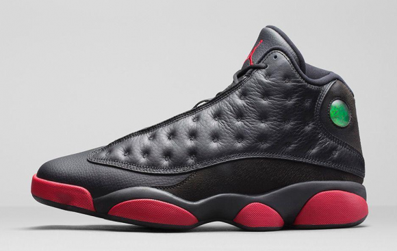 Air Jordan 13 Retro Black:Gym Red - Official Look + Release Info 2