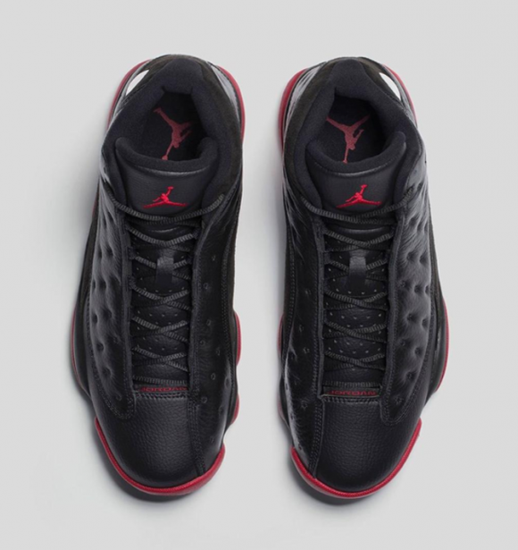 Air Jordan 13 Retro Black:Gym Red - Official Look + Release Info 3
