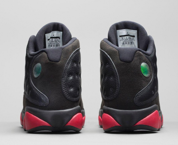 Air Jordan 13 Retro Black:Gym Red - Official Look + Release Info 4