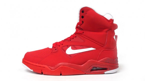 Nike Air Command Force Red White Black 3