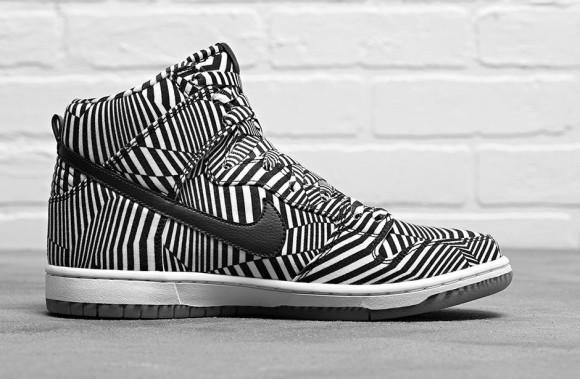 Nike Dunk High Premium SB 'Dazzle' - Official Look1
