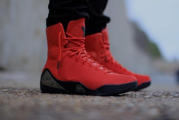 Nike Kobe 9 KRM EXT 'Challenge Red' – On-Feet Look5