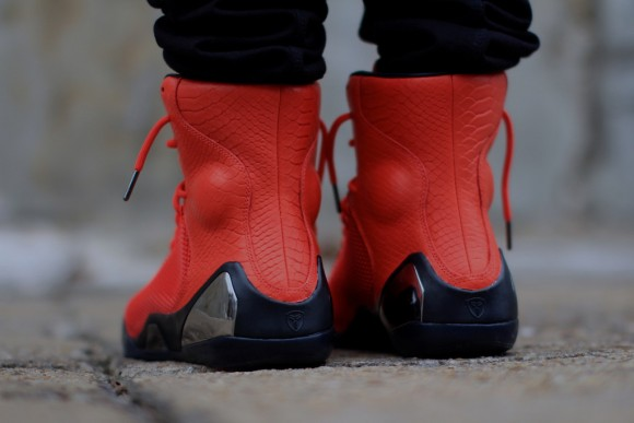 Nike Kobe 9 KRM EXT 'Challenge Red' – On-Feet Look9